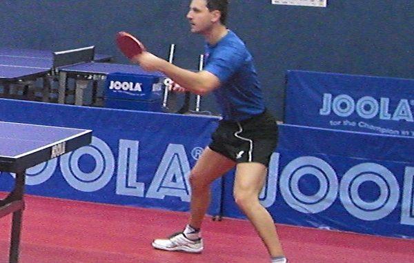 Timo Boll beim Training