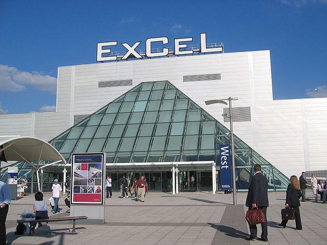 ExCel Exhibition Centre - Austragungsort der Tischtenniswettbewerbe 2012 in London