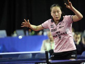 Li Jiao - Älteste Spielerin der Olympischen Spiele in Rio. ©Rob Feber Fotografie Apeldoorn - Wikiportret