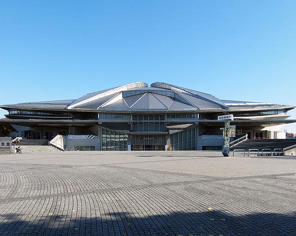 Tokyo Metropolitan Gymnasium - Austragungsort der Tischtenniswettbewerbe