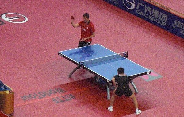 Vladimir Samsonov könnte im Viertelfinale auf Dimitrij Ovtcharov treffen.