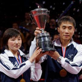 Gemischtes Doppel (mixed) in Olympische Wettbewerbe aufgenommen
