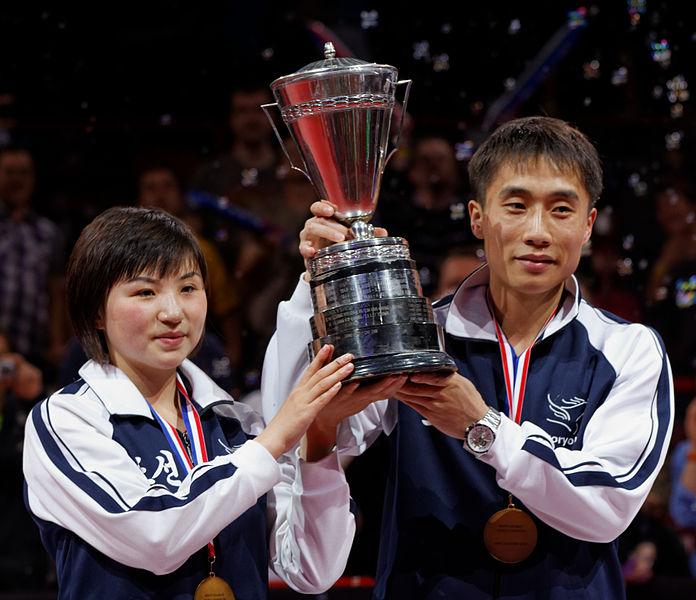 Der Mixed-Wettbewerb ist 2020 in Tokio einer der fünf Wettbewerbe. © Pierre-Yves Beaudouin - Wikiportret [CC BY-SA 3.0]